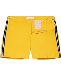 Orlebar Brown Kürzere Badeshorts In Toucan - Yellow