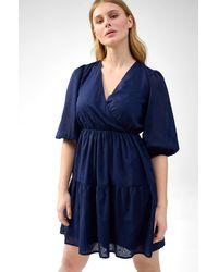 ORSAY Ausgestelltes Kleid - Blau