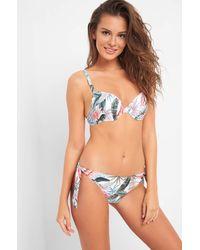 ORSAY Bikinihose mit Zierschleifen - Weiß