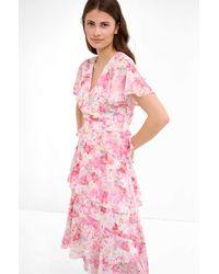 ORSAY Asymmetrisches Kleid - Pink