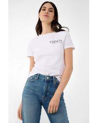 ORSAY - T-Shirt mit Slogan - Lyst