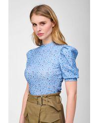 ORSAY Shirt mit Puffärmeln - Blau