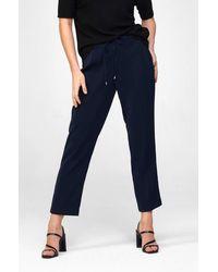 ORSAY Hose mit Bügelfalten - Blau