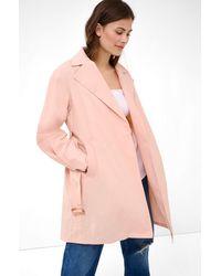 ORSAY Trenchcoat mit Bindegürtel - Pink