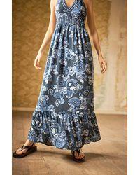 ORSAY Maxikleid mit Paisley-Muster - Blau