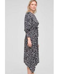ORSAY Asymmetrisches Kleid - Schwarz