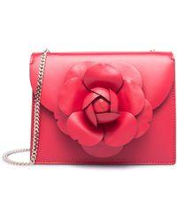 Oscar de la Renta - Ruby Leather Mini Tro Bag - Lyst