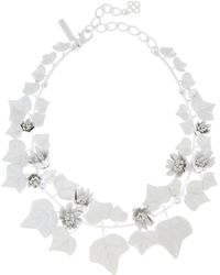 Oscar de la Renta - Painted Ivy Necklace - Lyst