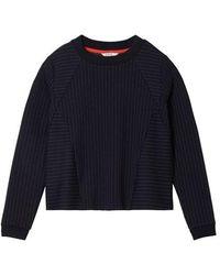 Sandwich Sweatshirt Long Sleeves Nightsky - Blue