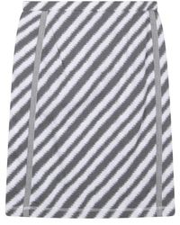Sandwich Skirt Jersey Medium Smoke Grey