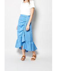 Karl Marc John Josefa Cornflower Skirt - Blue