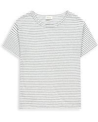 Alchemist Top Sileas Sea Stripe - White