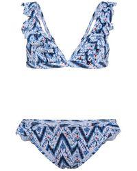 Pepe Jeans Ikat Bikini Multi - Blue