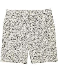 French Connection Puck Print Machine Stretch Shorts Puck/lo Print - Multicolour