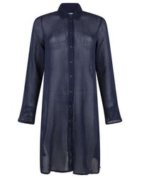 Sandwich Blouses Other Navy I - Blue