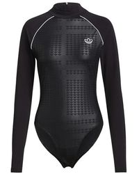 adidas Bodysuit Black