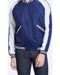 IKKS Indigo Baseball Jacket - Blue