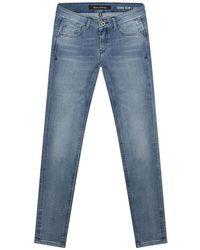 Marc O'polo Skara Slim Jeans In A Mid-blue Wash Denim