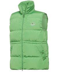 adidas Down Puffer Vest Green