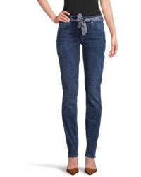 Marc O'polo Lulea Slim Jeans With Normal Rise Denim - Blue