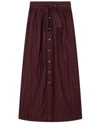 Karl Marc John Juanita Terra Skirt - Purple
