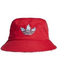 adidas Originals X Aaron Kai Bucket Hat Red