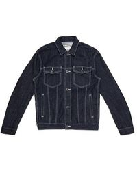 Onitsuka Tiger Denim Jacket Peacoat - Blue