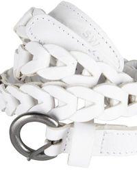 Sandwich Belt Hip Pure White