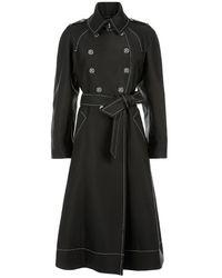Temperley London Matilde Tailored Coat Black