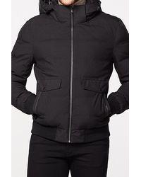 IKKS Black Rock Vibe Urban Lab Padded Jacket