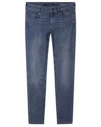 Marc O'polo Skinny Denim Trouser Light Commercial Wash - Blue