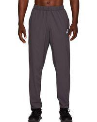 Asics Sport Woven Pant Dark Grey