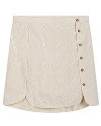 Karl Marc John Jive Cream Skirt - Natural