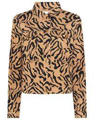 FABIENNE CHAPOT Cyprus Jacket Toffee Brown/black