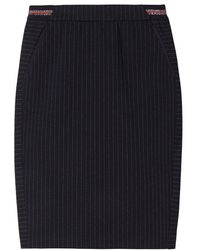 Sandwich Skirt Jersey Medium Nightsky - Blue