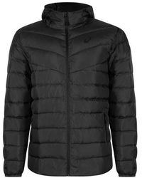 Asics Down Hooded Jacket Dark Grey