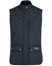 Belstaff W.waistcoat Dark Navy - Blue