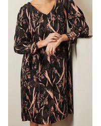 Lanius Dress, Print: Garden Yves Print Yves Garden Onyx - Black