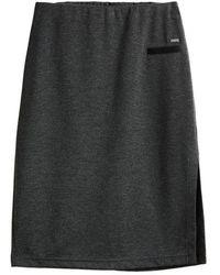 Sandwich Skirt Jersey Medium 80062 Grey Magnet Htr