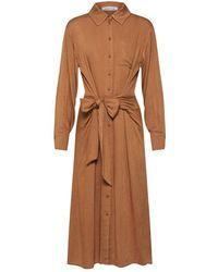 EDITED Mana Dress Camel - Brown