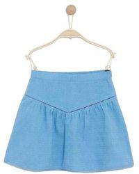 Karl Marc John Jabaly Cornflower Skirt - Blue