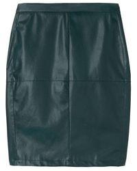 Sandwich Skirt Woven Casual Medium Emerald - Green