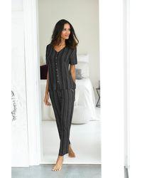 Lascana Pyjama - Zwart