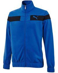 PUMA Trainingsanzug (Set, 2 tlg) - Blau