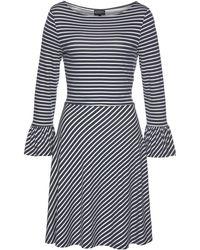 Laura Scott - Jerseykleid mit Volant am Ärmel - Lyst