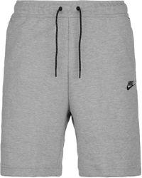 Nike Shorts »Tech Fleece« - Grau