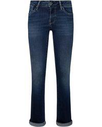Pepe Jeans Bootcut-Jeans - Blau