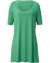 Anna Aura Oversize-Shirt - Grün