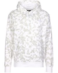 Nike Kapuzenpullover - Weiß