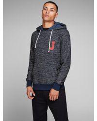 Jack & Jones Print Sweatshirt - Blau